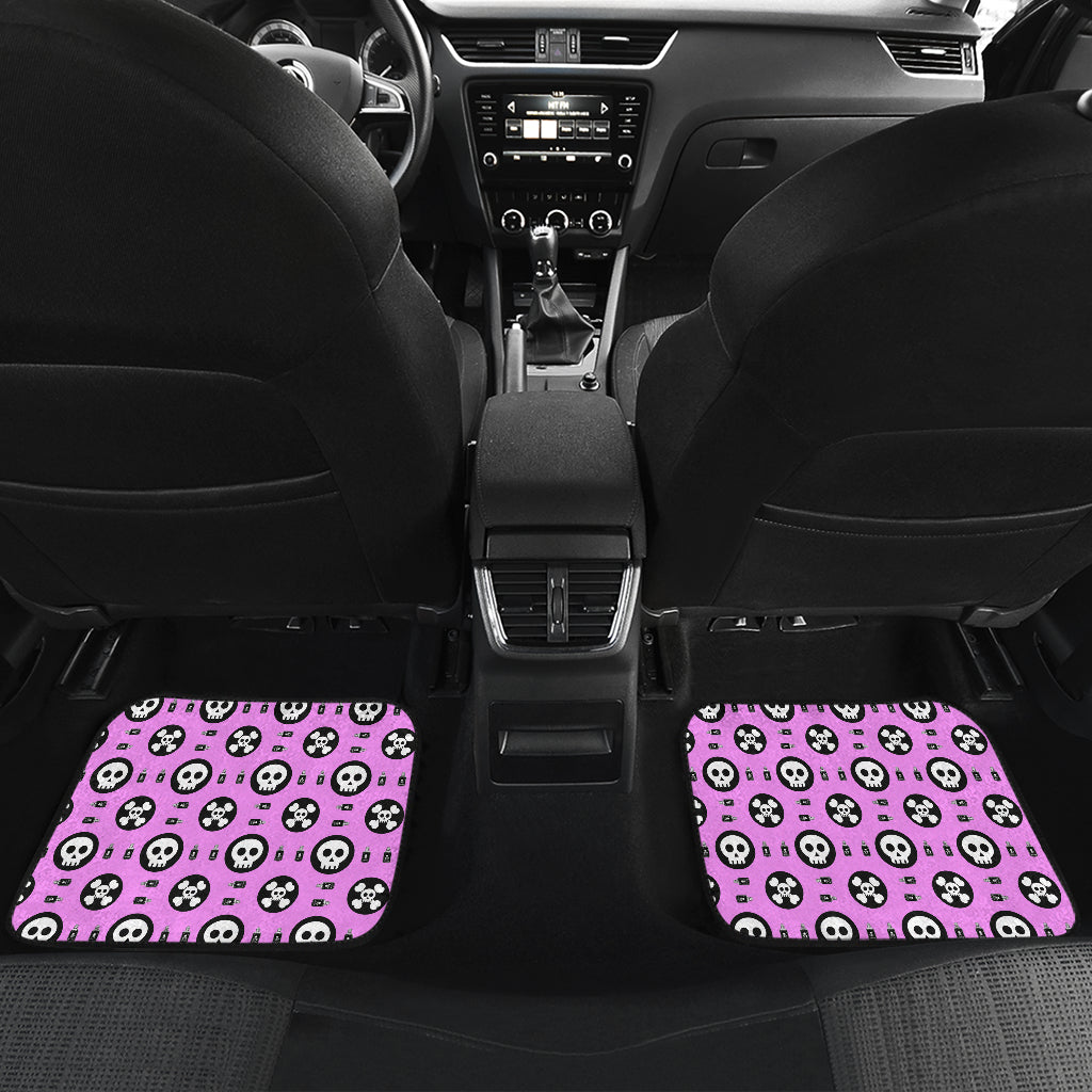 Skulls and Potion Front And Back Car Mats (Set of 4)