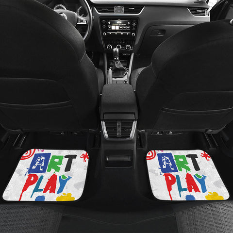 Image of Art-Play-Design Front And Back Car Mats