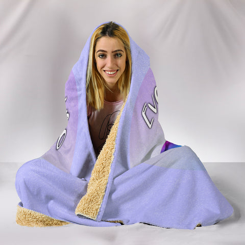 Image of Everything I Do Is For My Cats Hooded Blanket for Cat Lovers