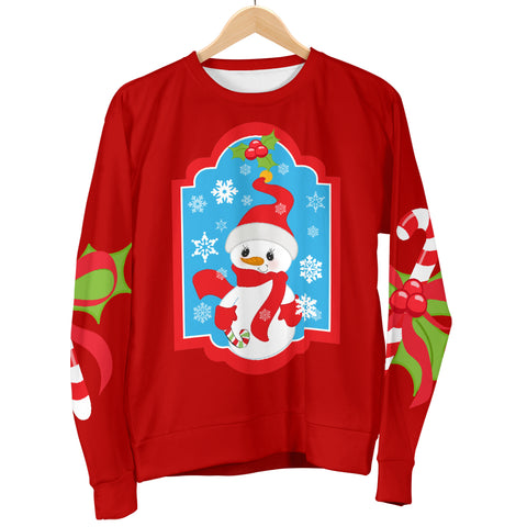 Ugly Christmas Sweater for Women with Snowman