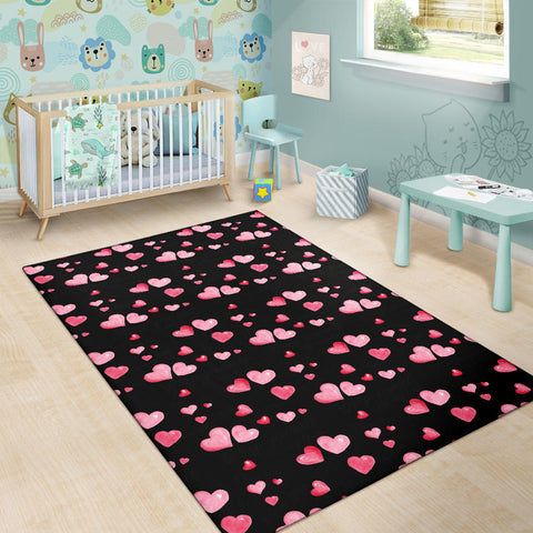 Image of Love Heart Area Rug