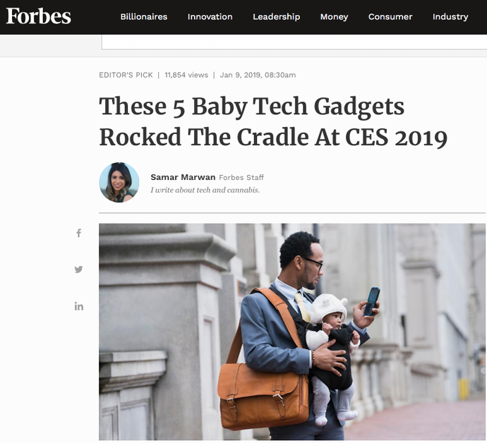 Proov was featured in Forbes!