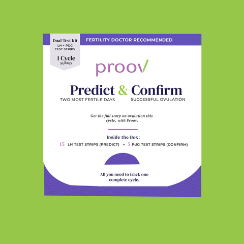 Proov predict and confirm ovulation