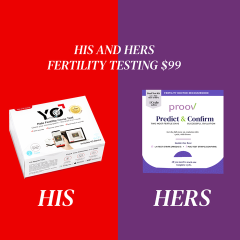 get pregnant faster with the his and hers fertility starter kit
