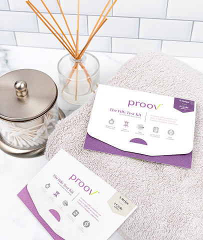 Proov test kit ovulation
