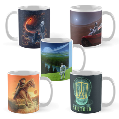 DeLuce Art Mugs