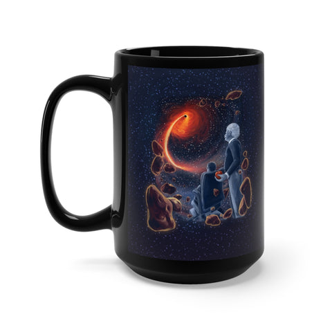 A Sky Full of Ghosts - Black Mug 15oz