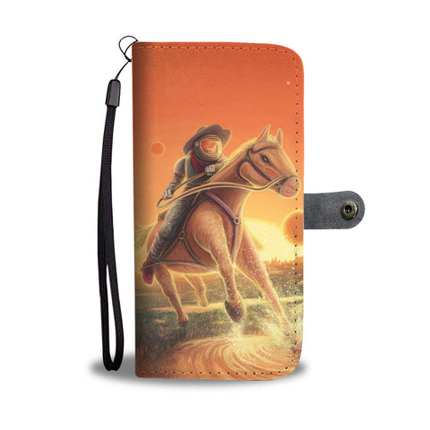 Space Cowboy - Phone Wallet