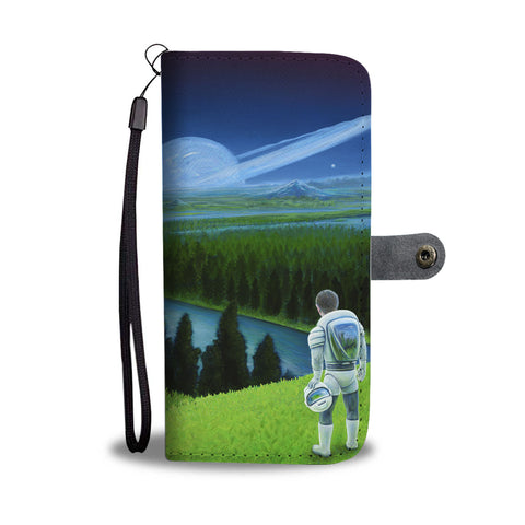 Happy Little Astronaut - Phone Wallet