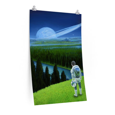 Happy Little Astronaut - Posters