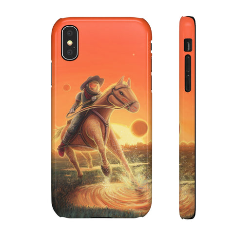 Space Cowboy - iPhone Cases