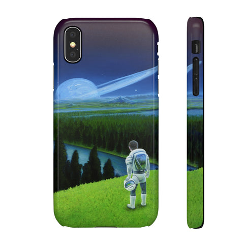 Happy Little Astronaut - iPhone Cases