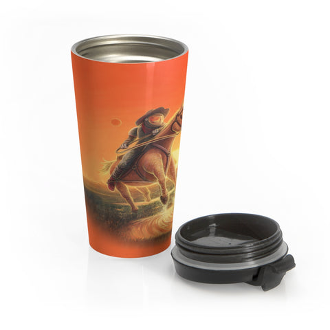 Space Cowboy - Stainless Steel Travel Mug