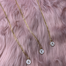 Initial Coin Slider Necklace & Choker