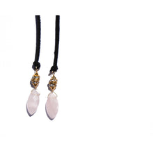 Rose Quartz Santa Monica Wrap (Black)