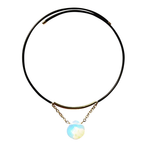 Opalite Pop On Choker