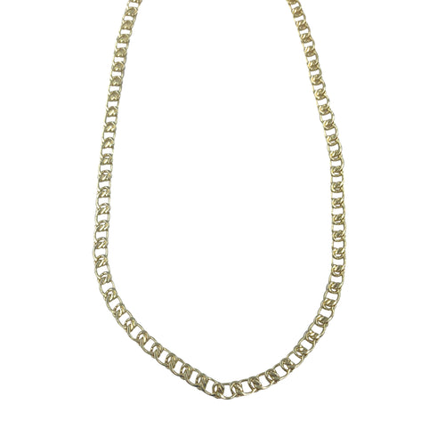 Gold Filigree Chain Adjustable Slider Necklace + Choker