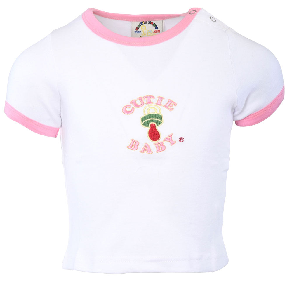Egyptian Comb Cotton T-Shirts - Pink