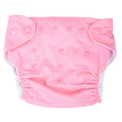 Egyptian Comb Cotton Snap Diapers - Pink
