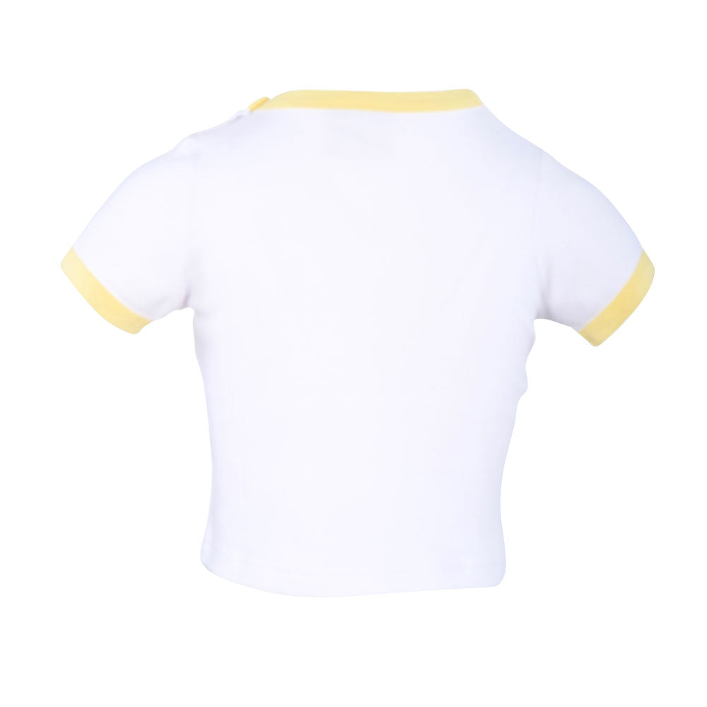 Egyptian Comb Cotton T-Shirts - Yellow