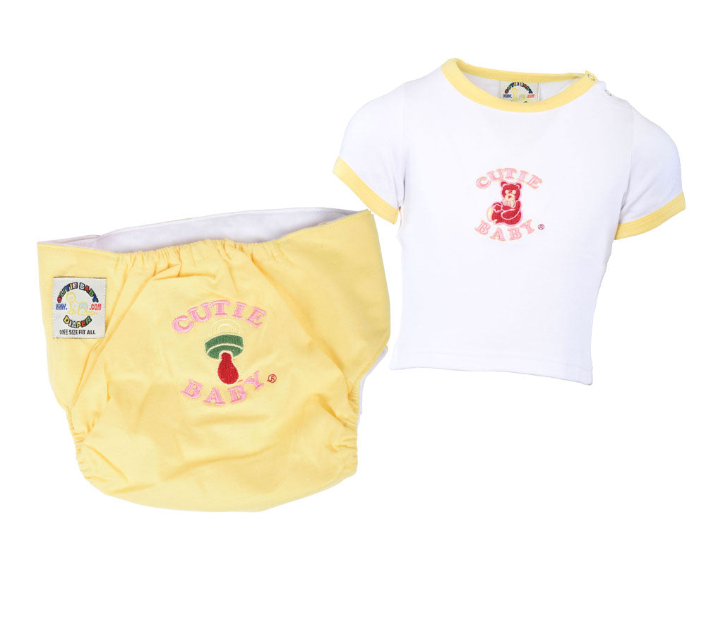 Buy 18 Diapers Get 6 Free Diaper & 4 Free Matching T-shirt