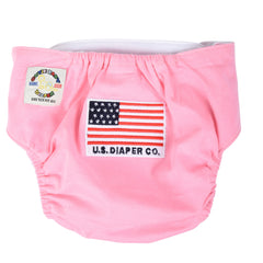 Egyptian Comb Cotton Diaper/T-shirt Combo - Pink