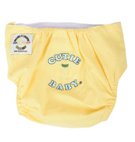 Egyptian Comb Cotton Velcro Diapers - Yellow