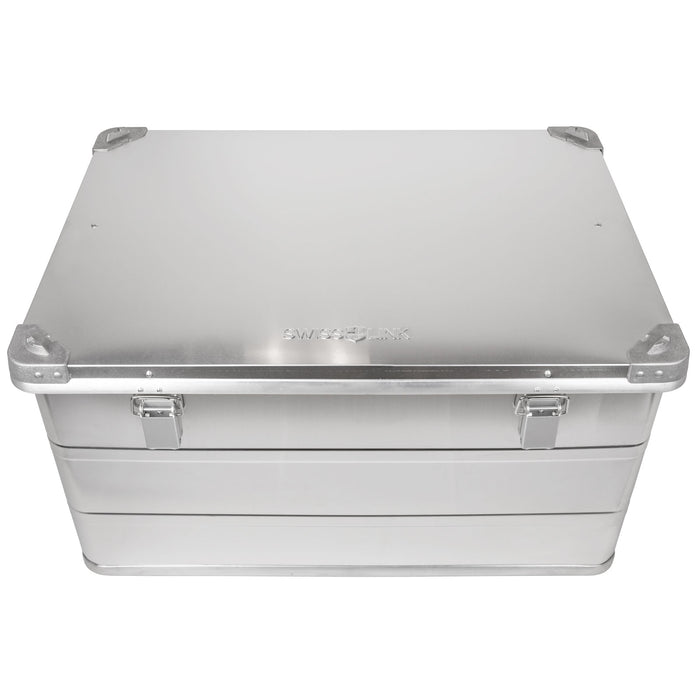 Aluminum Storage Boxes | Custom Swiss Link Nesting Cases