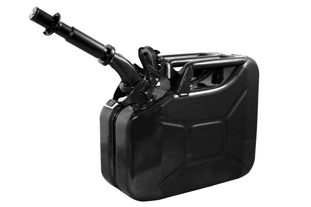 Black 10L Fuel Can