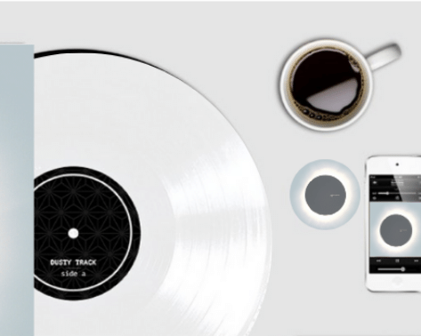 Limited Edition White Colored Vinyl Of Debut Album
