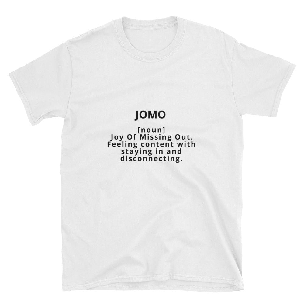 Joy Of Missing Out T-Shirt (White Edition)