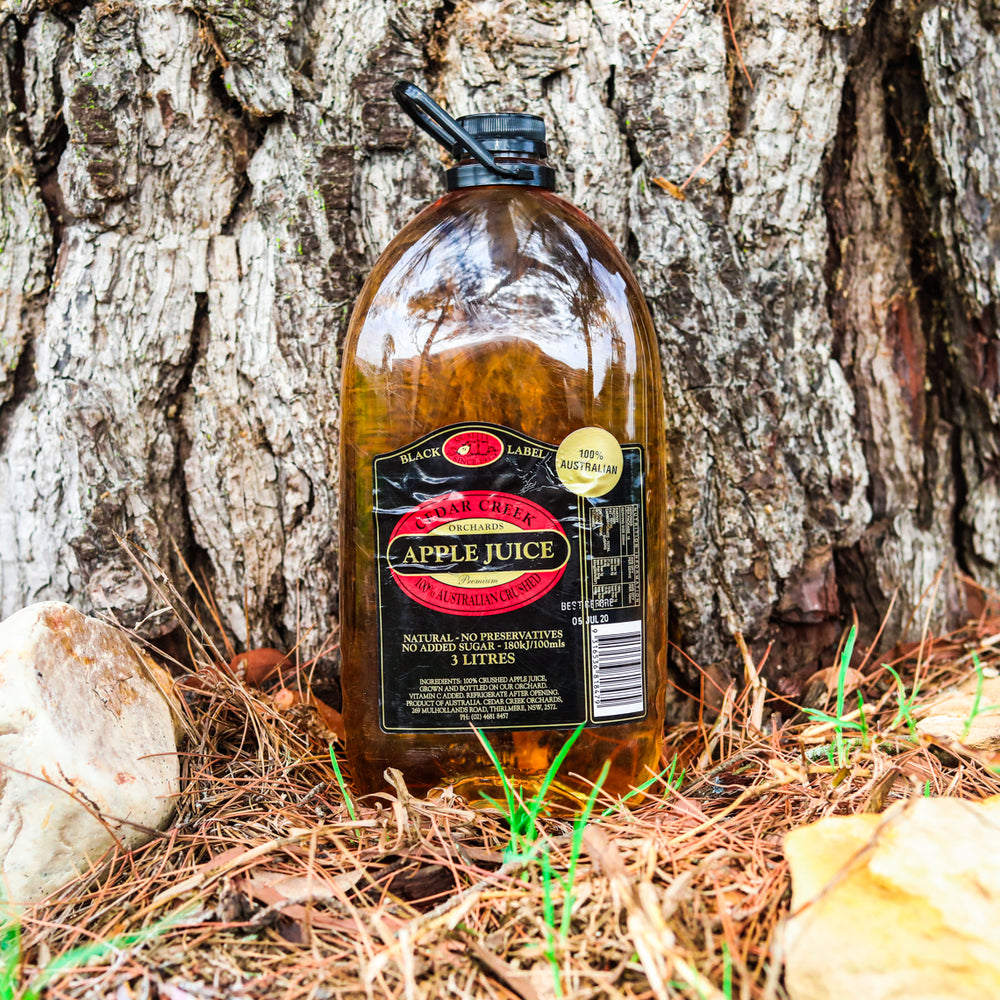 Cedar Creek Orchard Apple Juice (4 x 3L Bottles)