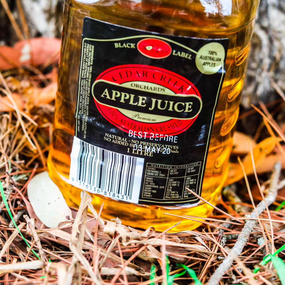 Cedar Creek Orchard Apple Juice (12 x 1L Bottles)