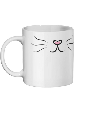 Fluffy when angry - Ceramic Mug