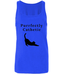 'Purrfectly Cathetic' Tank Top - squishbeans