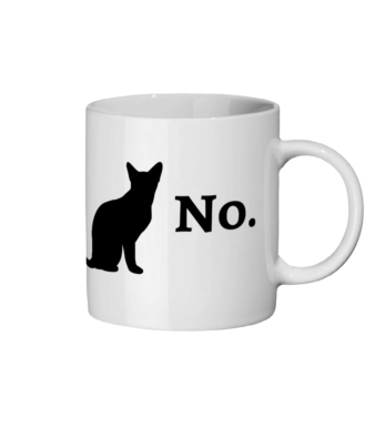'No.' Ceramic Mug - squishbeans