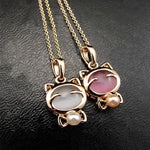 Lovely Crystal Pendant Necklace