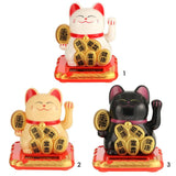 Solar Powered Maneki Neko - squishbeans