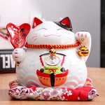 Maneki Neko Ceramic Money Box - squishbeans