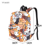 Anime Kitties Backpacks - squishbeans