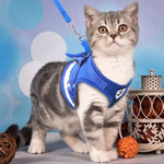 Reflective Cat Harness and Leash Set - squishbeans