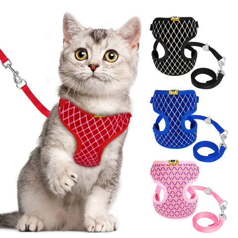 Rhinestone Harnesses & Lead Set - squishbeans