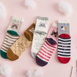 Patterned Cotton CAT Socks - Various Styles - squishbeans