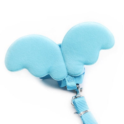 Angel Wings Cat Collar Harness - squishbeans