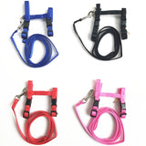 Adjustable Nylon Harness And Leash - squishbeans