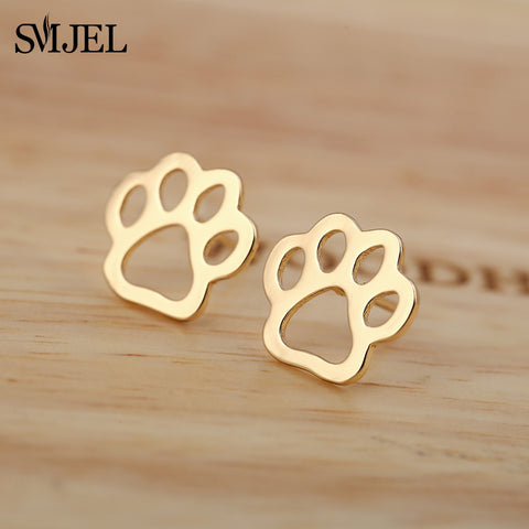 Simple Paw Earrings - squishbeans