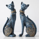 Classic Resin Cat Figurine Set - squishbeans