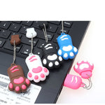 USB Paw Flash Drive - 4gb 8gb 16gb 32gb 64gb - squishbeans