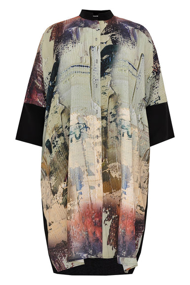Blouse painting long