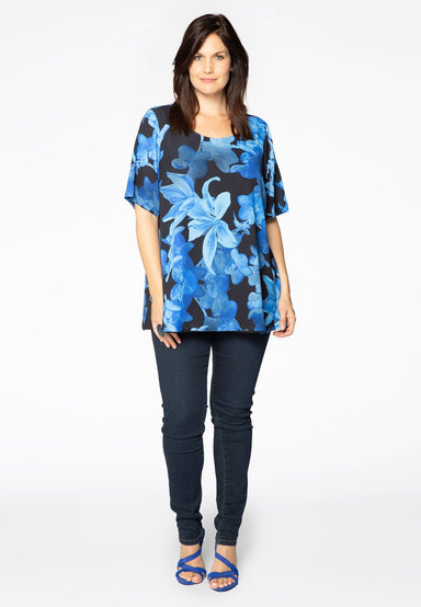 Tunic Flare Orchidee